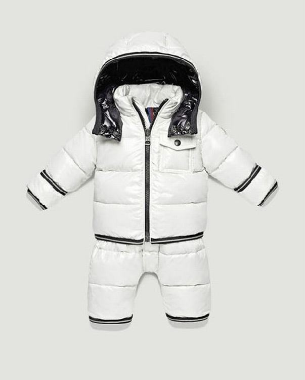 Moncler Enfant Jonas Kids Suits White