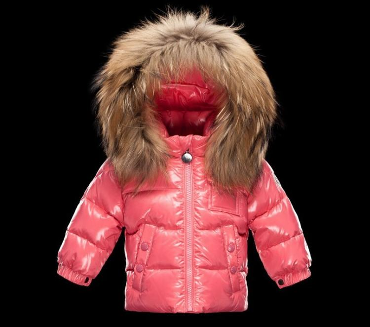Moncler Enfant K2 Kids Jacket Cherry