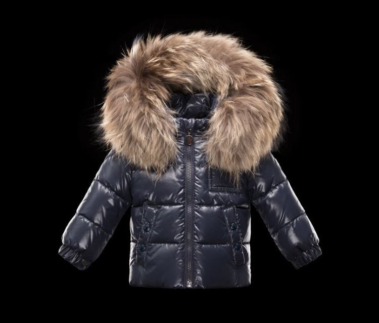 Moncler Enfant K2 Kids Jacket Navy Blue