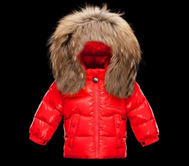 Moncler Enfant K2 Kids Jacket Orange