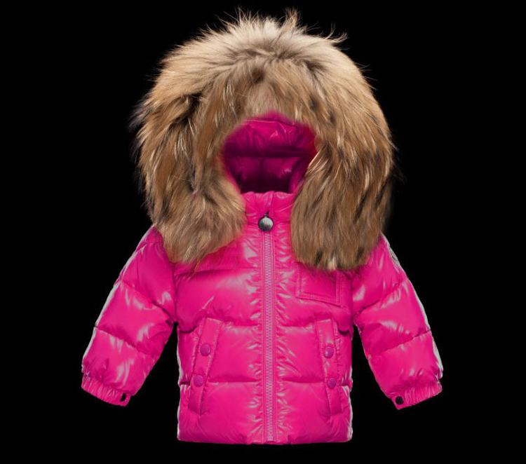 Moncler Enfant K2 Kids Jacket Pink