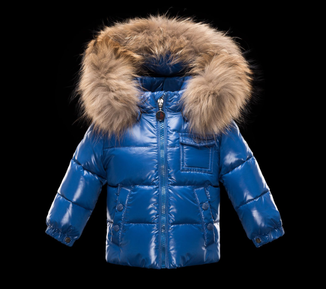 Moncler Enfant K2 Kids Jacket Royal Blue