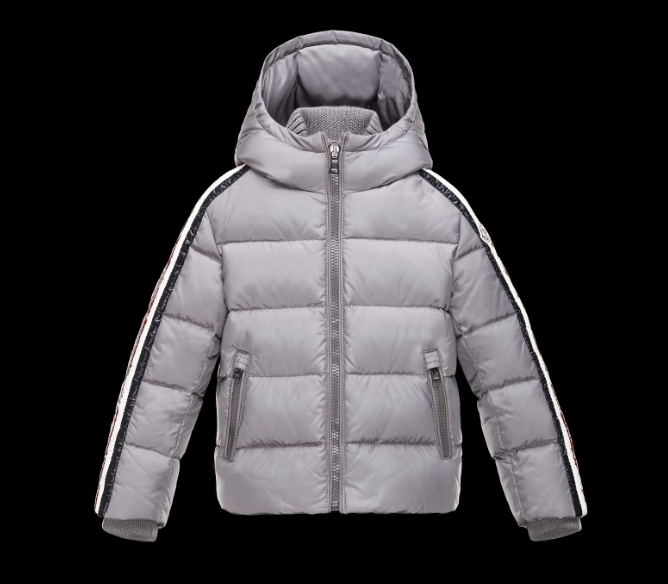 Moncler Enfant Kids Jacket Grey