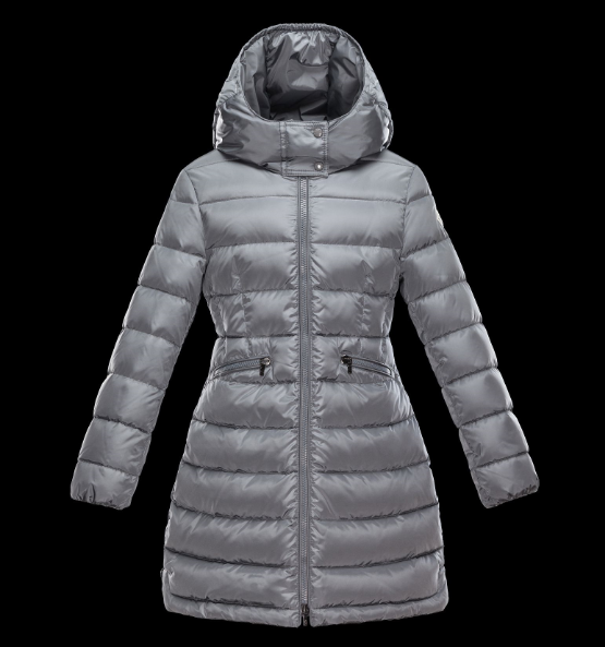 Moncler Enfant Kids Jacket Silver