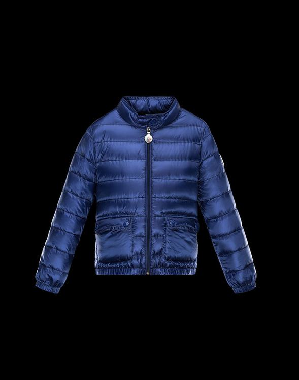 Moncler Enfant Lans Kids Jacket Blue