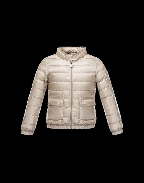 Moncler Enfant Lans Kids Jacket Cherry
