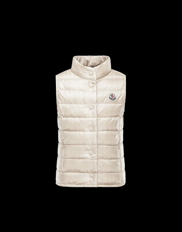 Moncler Enfant Liane Kids Gilet Cream White