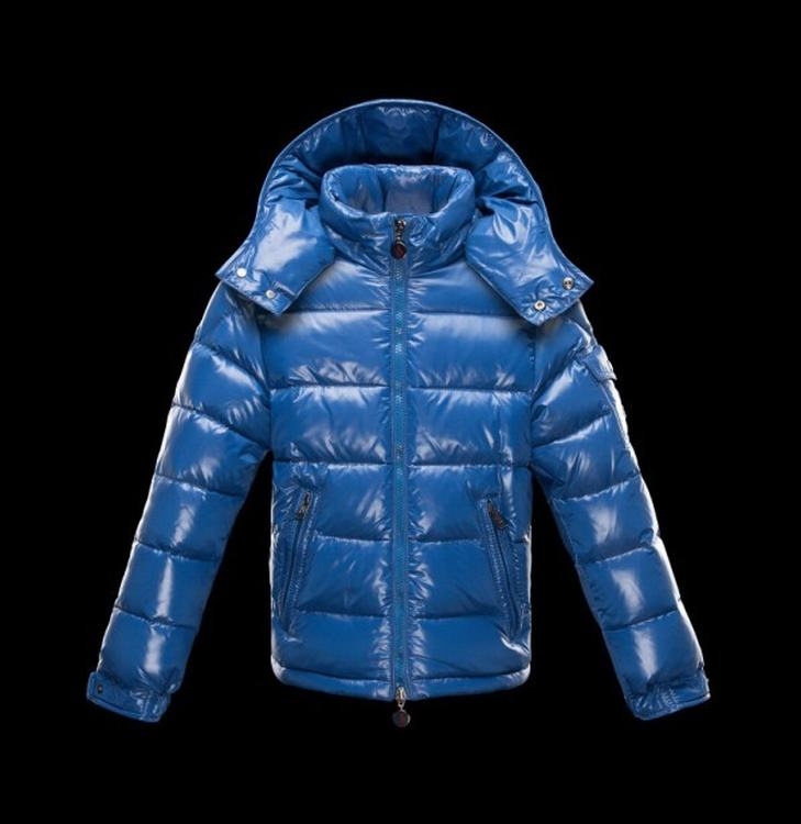 Moncler Enfant Maya Kids Jacket Blue