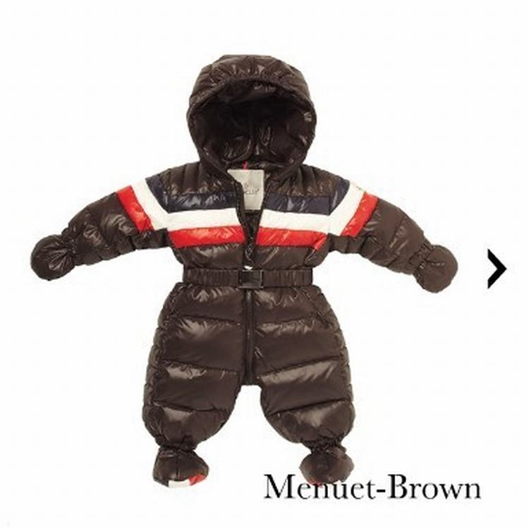 Moncler Enfant Menuet Kids Suits Brown