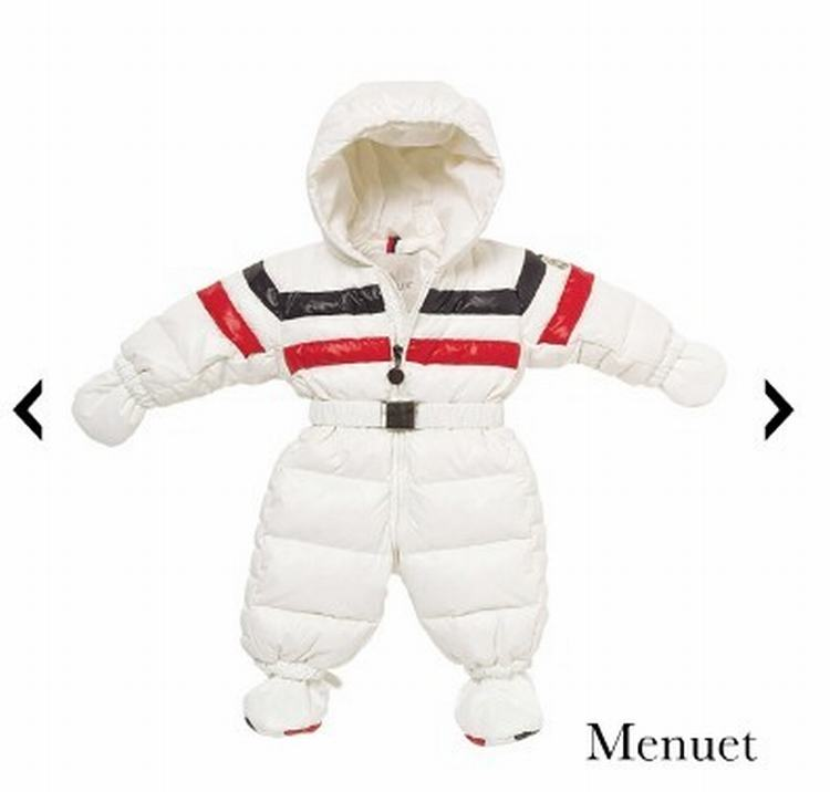 Moncler Enfant Menuet Kids Suits White
