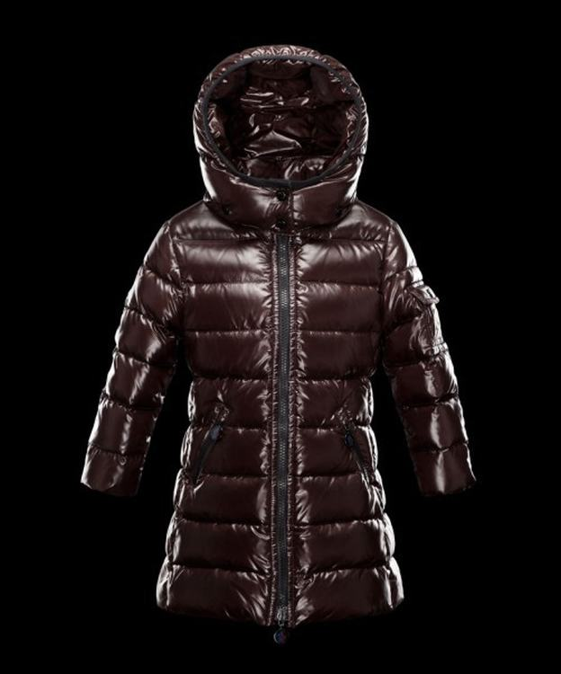 Moncler Enfant Moka 01 Kids Jacket Brown