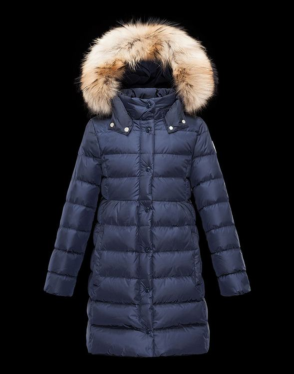 Moncler Enfant Neste Kids Jacket Blue