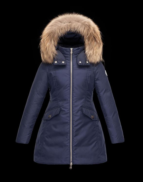 Moncler Enfant Obax Kids Jacket Blue