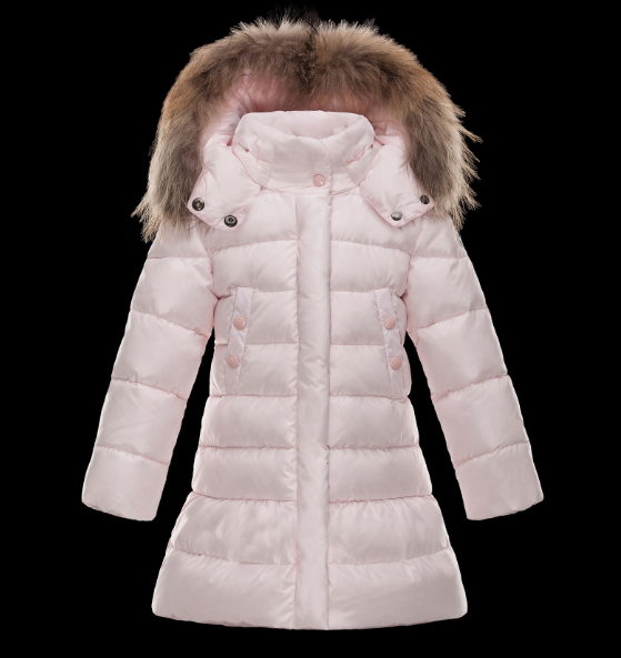 Moncler Enfant Phalangere Kids Jacket Cherry