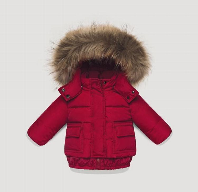 Moncler Enfant Poulain Kids Jacket Red