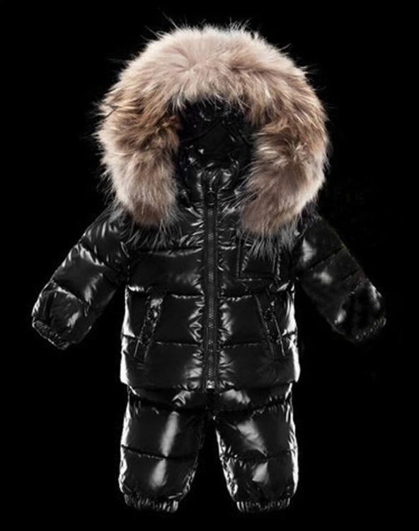 Moncler Enfant Remy Kids Suits Black