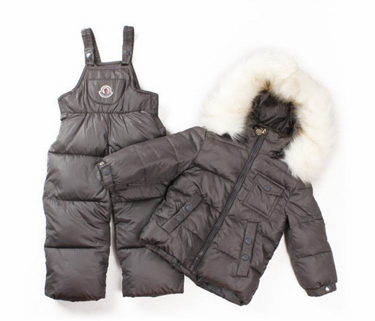 Moncler Enfant Remy Kids Suits Dark Grey