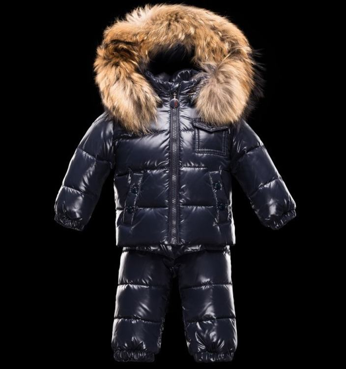 Moncler Enfant Remy Kids Suits Navy Blue