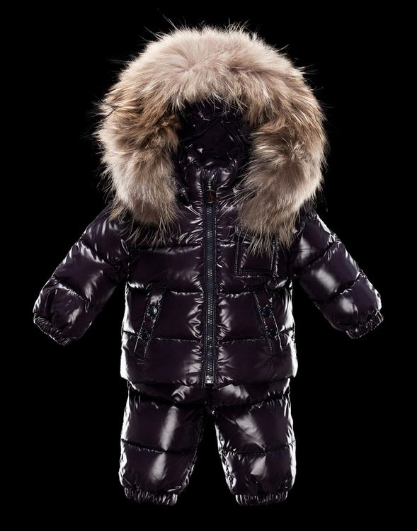 Moncler Enfant Remy Kids Suits Purple