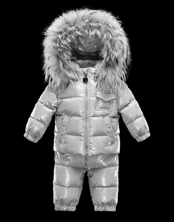 Moncler Enfant Remy Kids Suits Silver