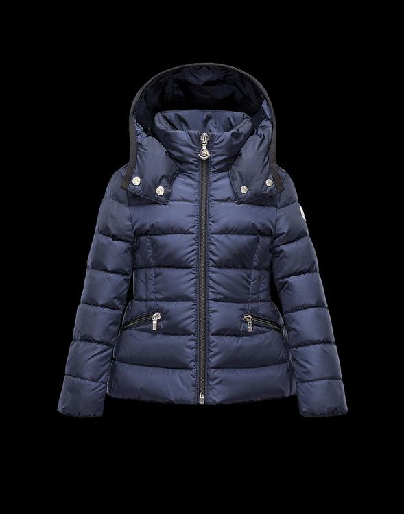Moncler Enfant Saby Kids Jacket Blue
