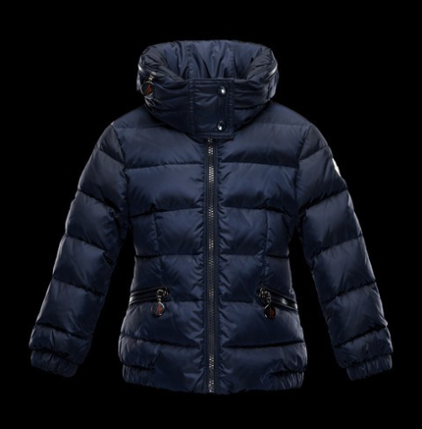Moncler Enfant Sanglier Kids Jacket Navy Blue