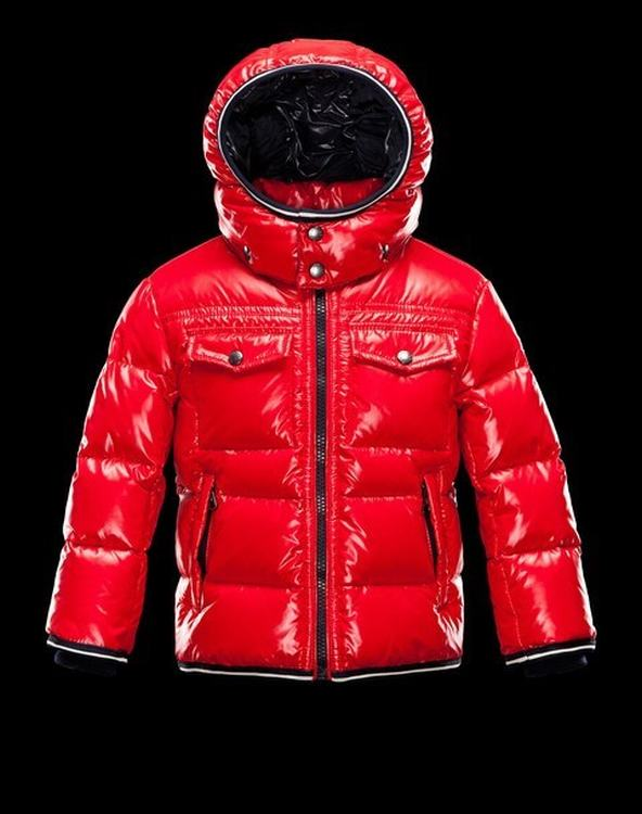 Moncler Enfant Thomas Kids Jacket Red