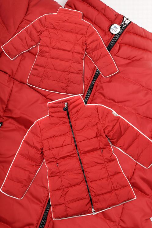 Moncler Fraise Kids Jacket Red