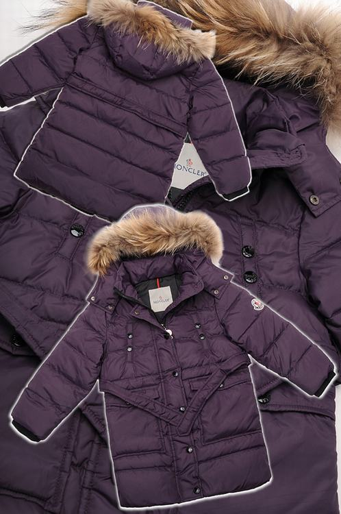 Moncler Gabriel Kids Jacket Purple