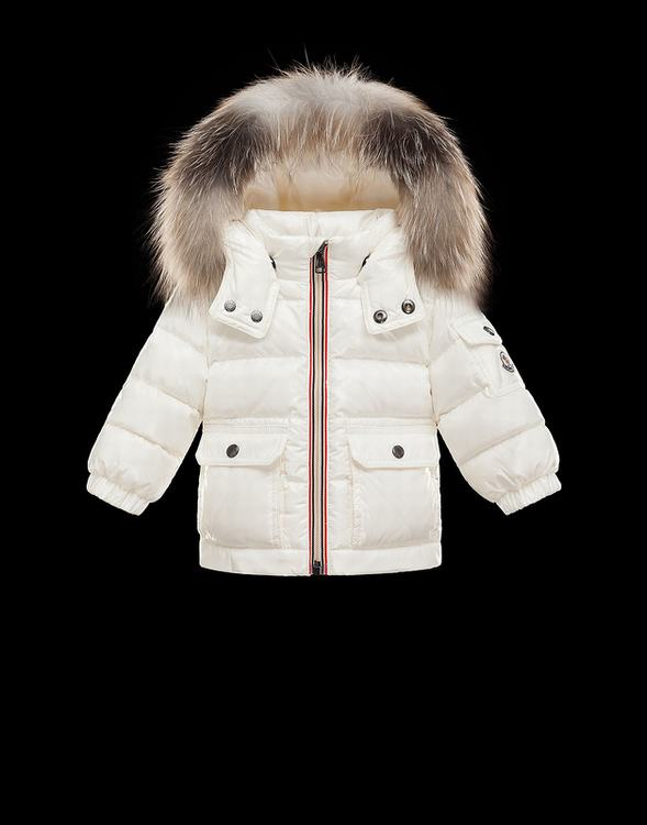 Moncler Gratien Kids Jacket White