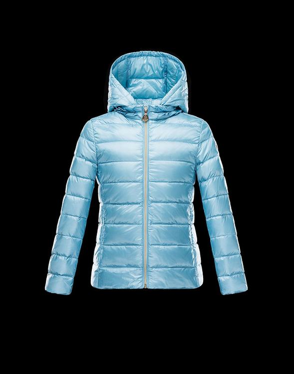 Moncler Iraida Kids Jacket Sky Blue