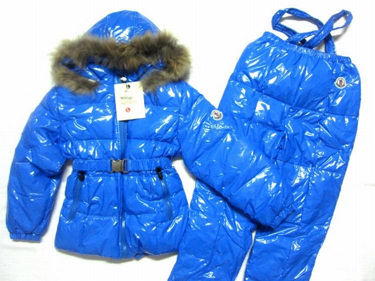 Moncler Jerome for Kids 01 Kids Jacket Blue