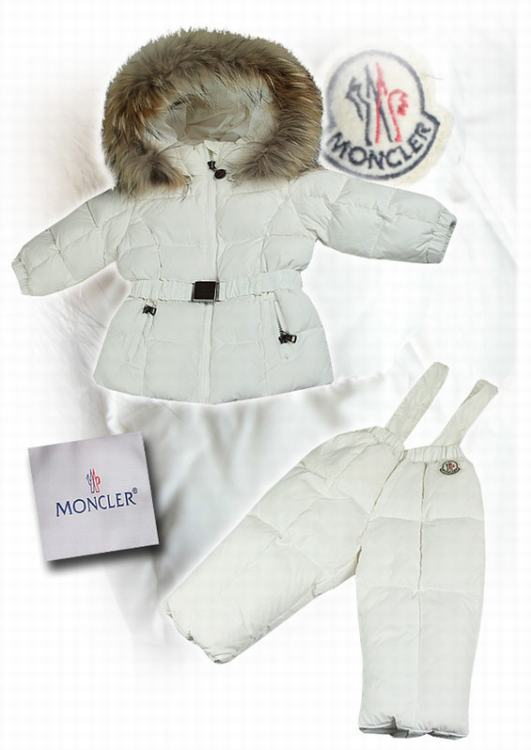 Moncler Jerome for Kids 02 Kids Jacket White