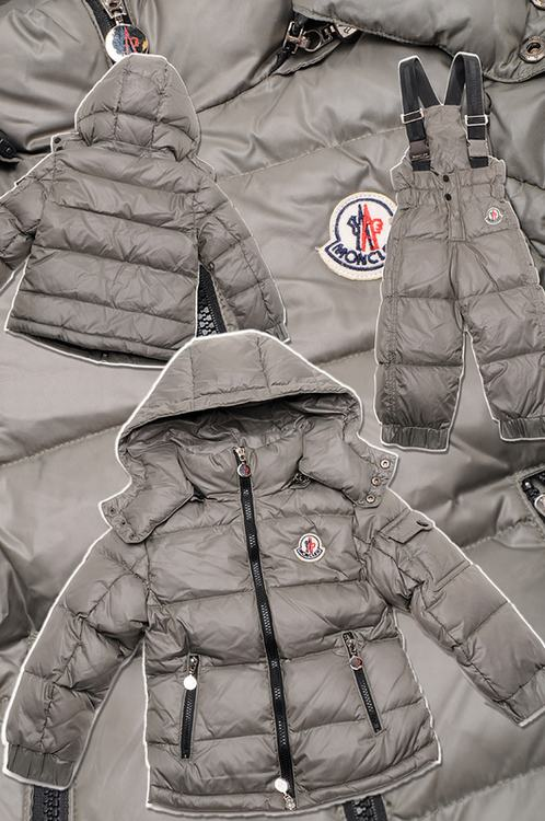 Moncler Jules Kids Jacket Grey