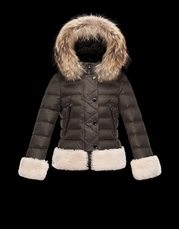 Moncler Kids Jacket Brown
