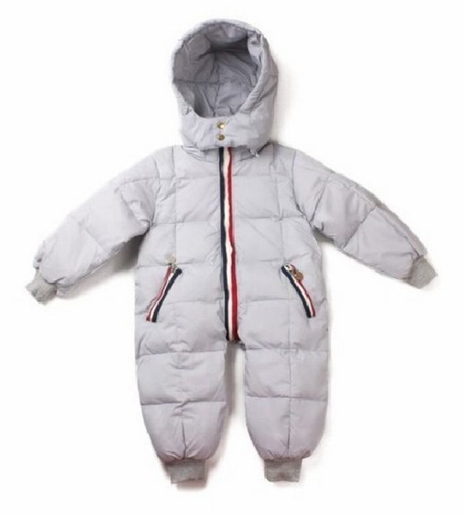 Moncler Kids Suits 12 Grey