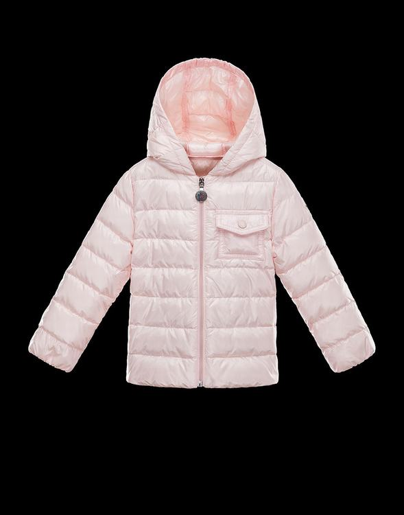 Moncler Milou Kids Jacket Light Pink