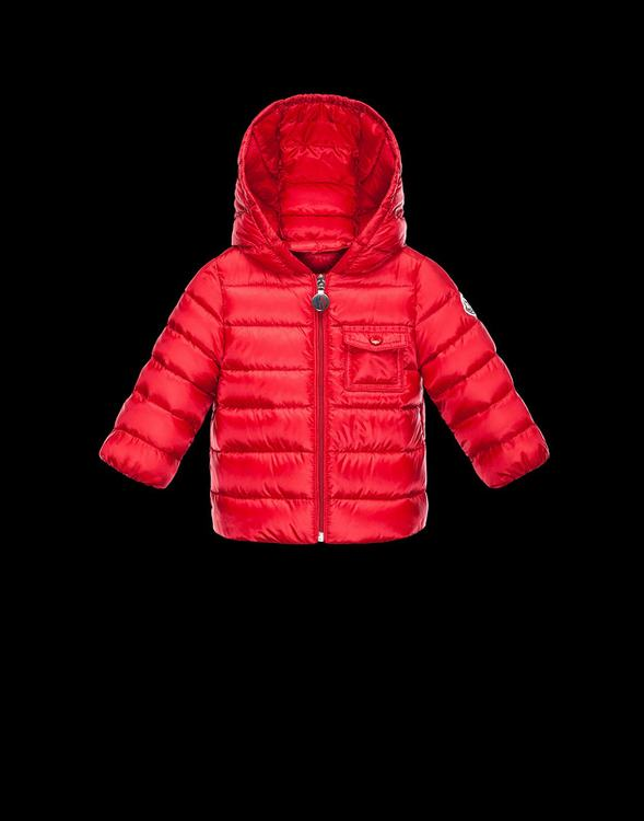 Moncler Milou Kids Jacket Red