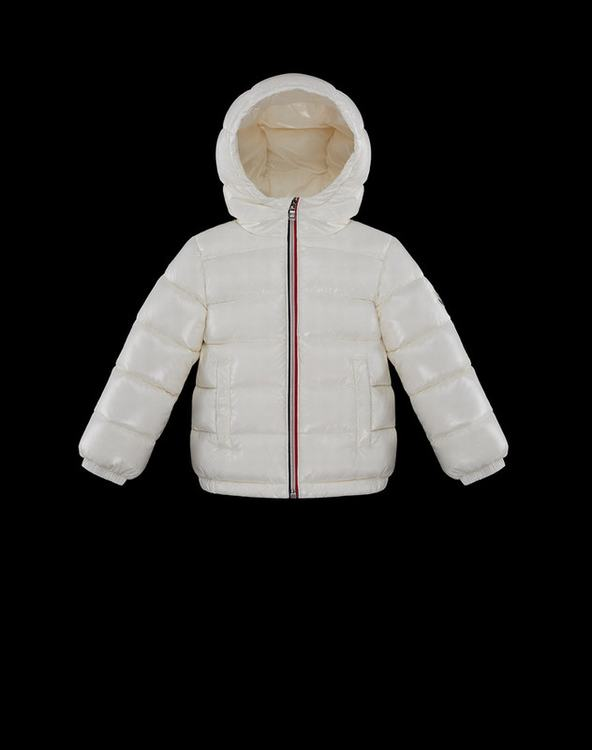 Moncler New Aubert Kids Jacket White