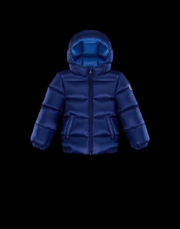 Moncler New Macaire Kids Jacket Blue
