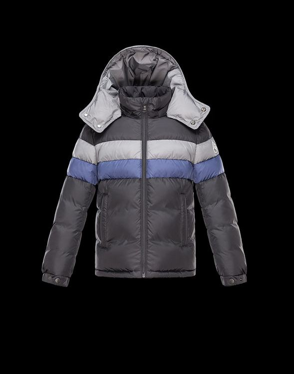 Moncler Philippe Kids Jacket Grey White Blue