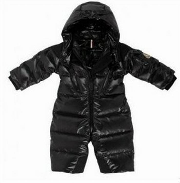 Moncler Poney Kids Jacket Black
