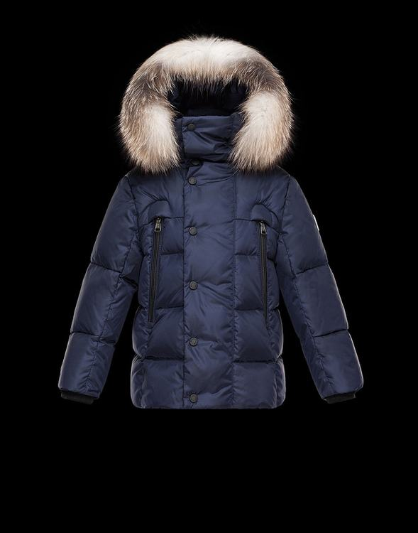 Moncler Reginald Kids Jacket Blue