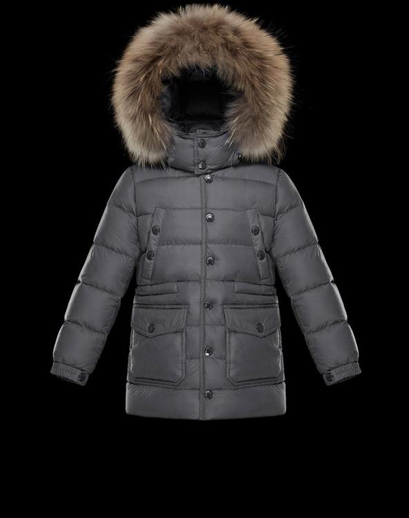 Moncler Seneca Kids Jacket Grey