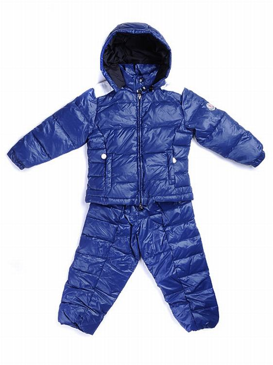 Moncler Setriere Kids Jacket Royal Blue