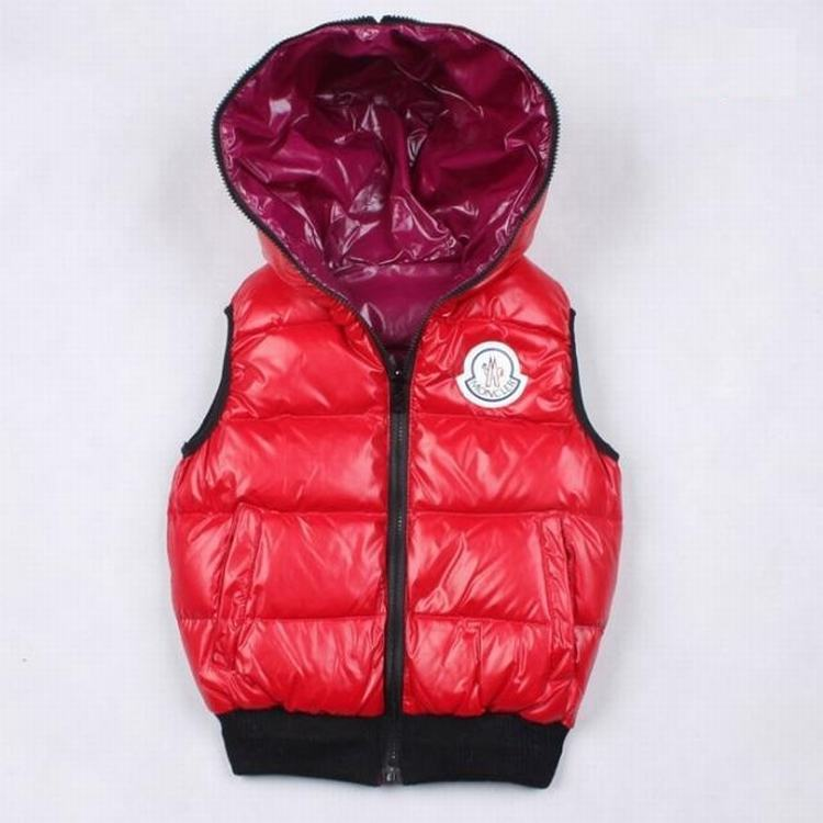 Moncler Theo Kids Jacket Red