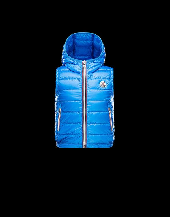 Moncler Weste Kids Jacket Sky Blue