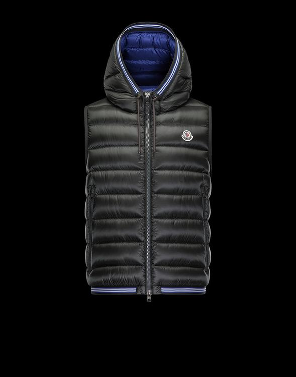 MONCLER AMIENS MEN VEST Brown