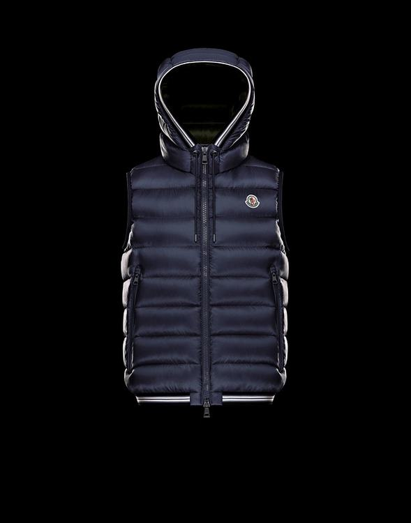 MONCLER AMIENS MEN VEST Dark Blue