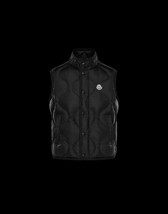 MONCLER CANUT MEN VEST Black
